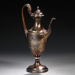 Large George III Sterling Silver Coffeepot