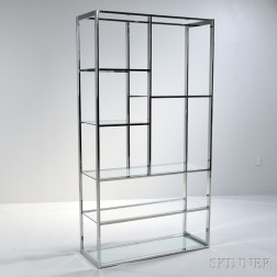Etagere in the Manner of Milo Baughman