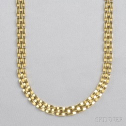 "18kt Gold ""Panthere"" Necklace, Cartier"