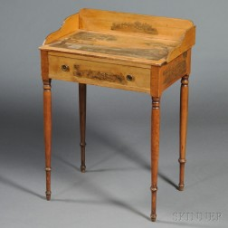 Federal Birch Academy-decorated Dressing Table