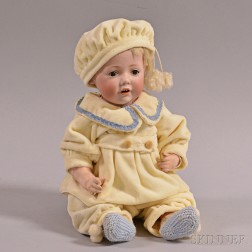 Kestner Baby Bisque Head Doll