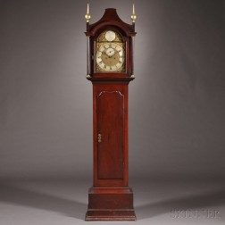 Benjamin Willard Cherry Tall Clock