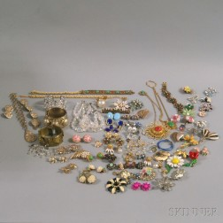 Large Group of Assorted Costume Jewelry
