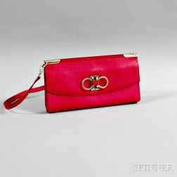 b0ee4f15550a Lot Details Inquire · Salvatore Ferragamo Magenta Handbag