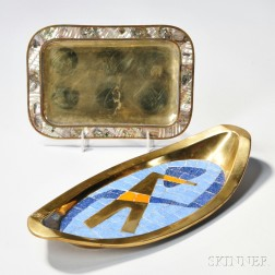 Salvador Teran (1920-1974) Tray and Another Tray