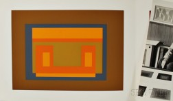 Josef Albers (American/German, 1888-1976)      Two Plates from the Portfolio Formulation : Articulation