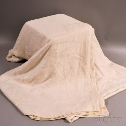 """Large """"Great Seal of the United States"""" Linen Tablecloth"""