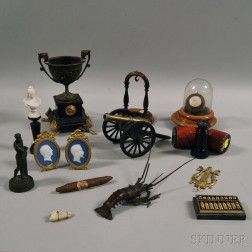 Group Victorian and Neoclassical Decorative Items