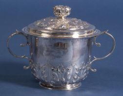 Charles II Silver Caudle Cup