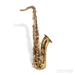 French Tenor Saxophone, Henri Selmer, Paris, 1959, Model Mark VI