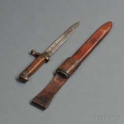 Model 1895 Winchester Bayonet and Scabbard