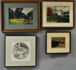 Four Framed Works