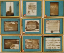 Thirty-five Mostly Boston-related Magic Lantern Glass Slides