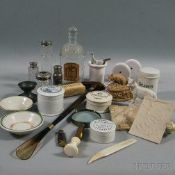 Group of Vanity, Toiletries and Hygiene Items