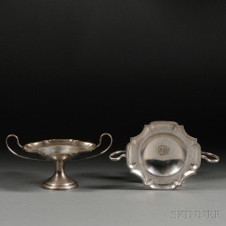 Pair of George V Sterling Silver Tazza