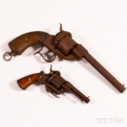 Two Pinfire Pistols.     Estimate $200-300