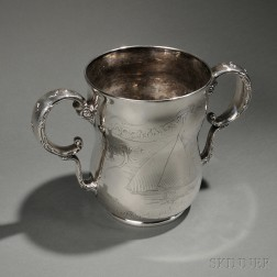 Whiting Sterling Silver Larchmont Yacht Club Trophy