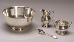 Three Tiffany & Co. Sterling Tablewares