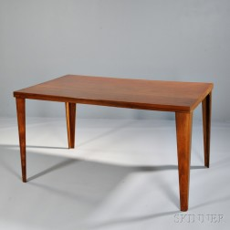 Rare DTW Charles Eames Dining Table