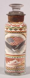 Patriotic Sand Picture in a Bottle