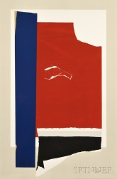 Robert Motherwell (American, 1915-1991)      On The Wing