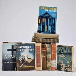 Faulkner, William (1897-1962) Ten First and Early Editions.
