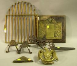 Group of Assorted Metal Collectible Items