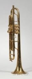 French Trumpet., F. Besson Company, Paris
