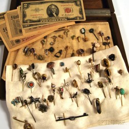 Collection of Antique Stickpins