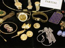 Group of Costume Jewelry and Watches