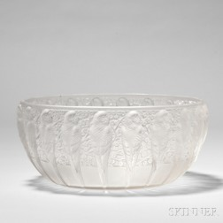 """R. Lalique """"Perruches"""" Coupe"""