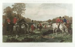 After John Frederick Herring, Senior (British, 1795-1865)  Two Images from/After Herring's Fox-Hunting Scenes.
