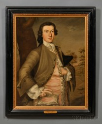 John Greenwood (Massachusetts, 1727-1792      Portrait of Thomas Child (1730-1787).