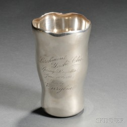 Larchmont Yacht Club Sterling Silver Trophy Cup