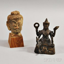Two Southeast Asian Buddhist Items