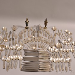 "International Sterling ""Prelude"" Partial Flatware Service"