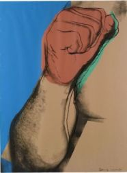Andy Warhol (American, 1928-1987)  Image from the MUHAMMAD ALI   Suite