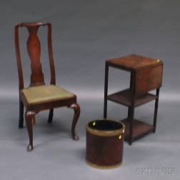 Three Pieces of Mahogany Furniture