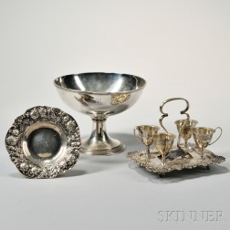 Two American Sterling Silver Compotes