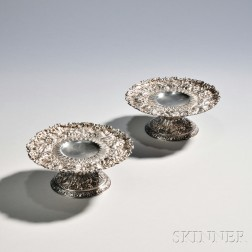 Pair of Tiffany & Co. Sterling Silver Tazza