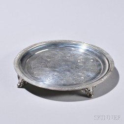 Dominick & Haff/William Gale & Son Sterling Silver Salver
