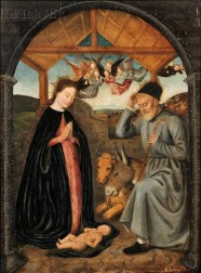 Flemish School, 15th/16th Century      Nativity