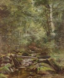 Clifford Grear Alexander (American, 1870-1954)  Trout Brook, Francois NH