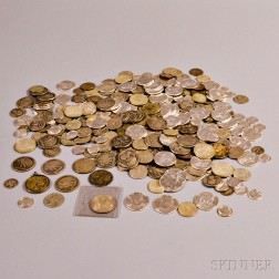 Large Group of Pre-1965 U.S. Silver Coins