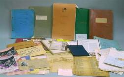 Archive of Correspondence, Records, and Ephemera Related to Nicholas and Pansy Schenck, Marti (Martha Schenck) ...
