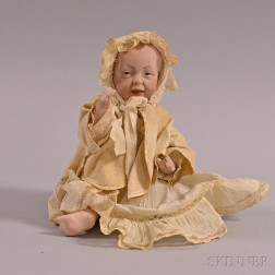 Small Kammer & Reinhardt Kaiser Baby Bisque Head Doll