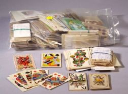 Miscellaneous Large and Extensive Lot of 18th, 19th, and 20th Century Playing Cards