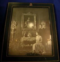 Autographed Royal Photograph in Leather Frame