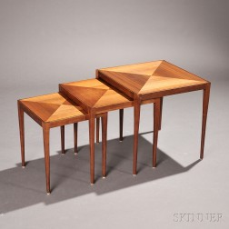 Three Directional Nesting Tables