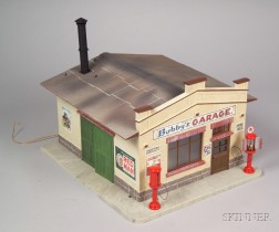 Three L.G.B. / Pola Garden Railroad Buildings